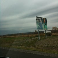 Photo taken at New York - Pennsylvania State Line by Waleska P. on 11/7/2011