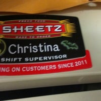 Photo taken at Sheetz by Christina R. on 8/6/2012