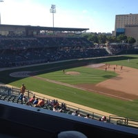 Photo taken at Victory Field by Mike G. on 6/22/2012