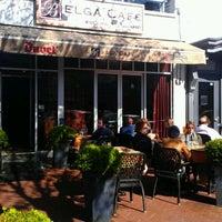 Photo taken at Belga Cafe by Janet M. on 4/6/2012