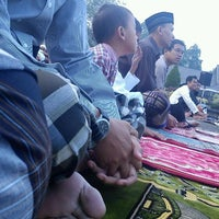 Photo taken at Masjid Agung Purwakarta by Budy S. on 8/30/2011