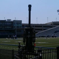 Photo taken at Foreman Field at S.B. Ballard Stadium by Ben W. on 9/3/2011