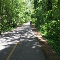 Photo taken at Capital Crescent Trail - Bethesda by Elisabete M. on 4/25/2012