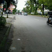 Photo taken at Jalan Arief Rate by Teuku Indra on 1/15/2012