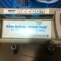 Photo taken at Albert Heijn by Frank B. on 6/7/2012