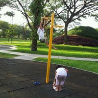 Photo taken at Setia Indah Recreation Park by NorZuliani N. on 1/6/2012
