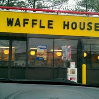 Photo taken at Waffle House by Brittany D. on 1/9/2012