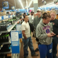 Photo taken at Walmart Supercenter by Mike C. on 11/8/2011