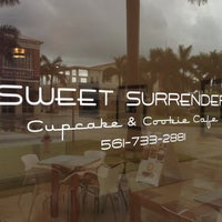 Photo taken at Sweet Surrender Cupcake & Cookie Cafe by Gregg Rory H. on 9/11/2012