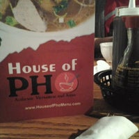 Photo taken at House of Pho by Ryan M. on 12/5/2011
