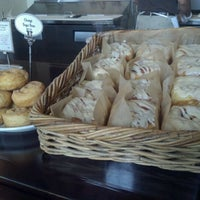 Photo taken at Con Pane Rustic Breads & Cafe by Sarah T. on 8/4/2012