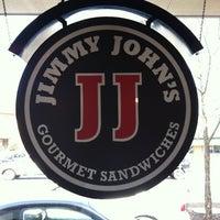 Photo taken at Jimmy John's by Brandon B. on 3/24/2011