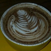 Photo taken at Jaho Coffee & Tea by Derek C on 1/9/2012