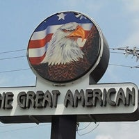 Photo taken at The Great American Diner and Pub by Adam F. on 7/16/2012