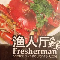 Photo taken at 渔人厅 Fresherman Seafood Restaurant & Cafe by Steffy L. on 3/4/2012