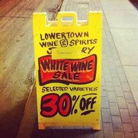 Photo taken at Lowertown Wine & Spirits by Garrio H. on 2/26/2012