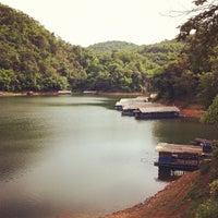 Photo taken at Kiu Lom Dam by Earth K. on 7/28/2012