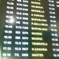 Photo taken at Aeropuerto de Sevilla (SVQ) by Paola C. on 6/30/2012