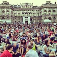 Photo taken at Somerset House by Bal B. on 8/19/2012