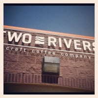 Photo taken at Two Rivers Craft Coffee Company by Colorado Card on 8/27/2012
