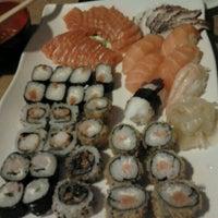 Photo taken at Japinha Sake Bar by Matheus B. on 4/2/2012