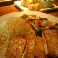Photo taken at Samurai Blue Japanese Grill by Kelly N. on 7/25/2012