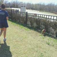Photo taken at Wagging Tail Dog Park by Alejandro R. on 3/3/2012