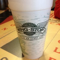 Photo taken at Wingstop by George M. on 3/28/2012