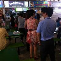 Photo taken at Market Street (Golden Shoe) Food Centre by Celes 思. on 5/23/2012