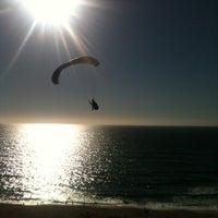 Photo taken at Praia das Bicas by Isidro C. on 8/25/2012