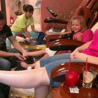 Photo taken at Paradise Nail Bar by Casey B. on 9/9/2012