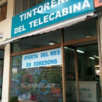 Photo taken at Tintoreria Del Telecabina by Pep A. on 6/7/2012