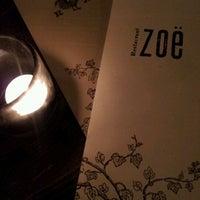 Photo taken at Restaurant Zoë by Andrea H. on 2/17/2012