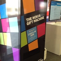 Photo taken at Nokia Gift Machine @ App Campus – Disrupt San Fran by Marcelo A. on 6/21/2012