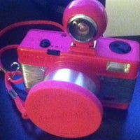 Photo taken at Lomography Gallery Store Gramercy by Melina S. on 4/7/2012