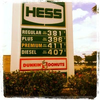 Photo taken at Hess Express by Big J. on 4/27/2012