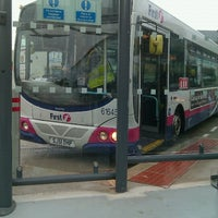Photo taken at Hamilton Central Bus Station by Gilbert F. on 6/29/2012
