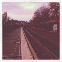Photo taken at Newtonville MBTA Commuter Rail by runner d. on 12/20/2011