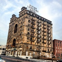 Photo taken at Divine Lorraine Hotel by Kevin K. on 3/16/2012