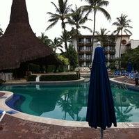 Photo taken at Hacienda Hotel & Spa by Jeronimo Adrian C. on 8/17/2011