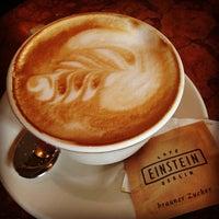 Photo taken at Café Einstein by Matthew B. on 5/8/2012