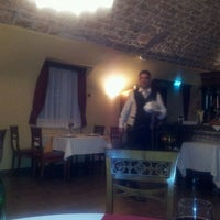 Photo taken at Hotel Kazbek restaurant & bar by Minna-Liisa N. on 5/15/2012