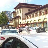 Photo taken at Estación de Oviedo by Iván S. on 9/3/2012