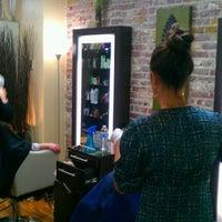 Photo taken at J. Kelley Salon by Jill Kelley R. on 1/27/2012
