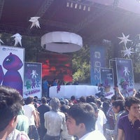Photo taken at Parque Los Columpios by Kath F. on 12/18/2011