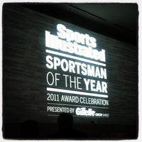 Photo taken at Sports Illustrated Sportsman Of The Year Event by Emily B. on 12/7/2011