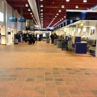 Photo taken at Kristiansand Lufthavn, Kjevik (KRS) by Lukas W. on 3/4/2012