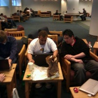 Photo taken at NYU Polytechnic School of Engineering Regna Lounge by Leona M. on 10/4/2011
