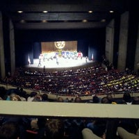 Photo taken at Stephens Auditorium by Connie J. on 2/18/2012
