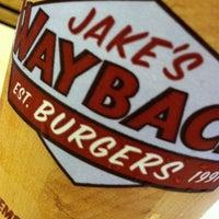 Photo taken at Jake's Wayback Burgers by David B. on 5/9/2012